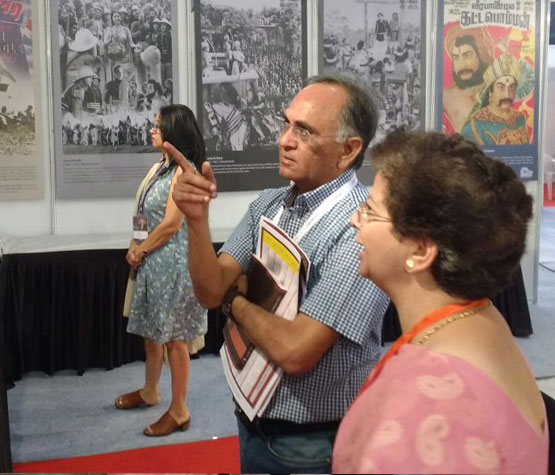 Luminaries visit NFAI Exhibition at PIFF 2017, Pune