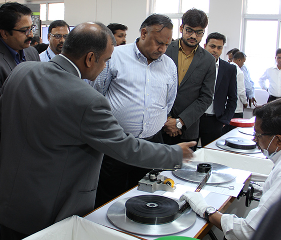 Launch of Film Condition Assessment and Digitization of Non-Filmic material by Hon. Secretary of I&a