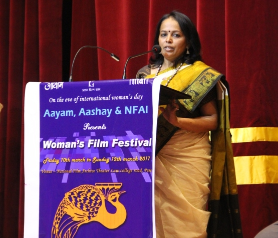 Moments from the Women\'s Day Film Festival at NFAI
