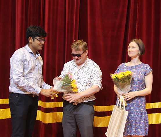 Glimpses of European Union Film Festival at NFAI