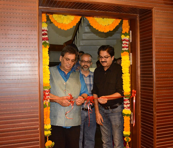 Subhash Ghai inaugurated the NFAI's newly built preview theatre